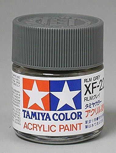 Tamiya America, Inc Acrylic XF22 Flat, Alum Gray, TAM81322