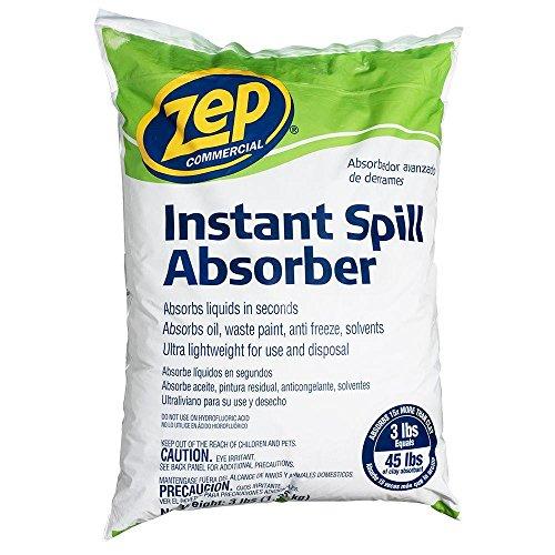 (ZEP Instant Spill Absorber 3 lb. (Case of 6))
