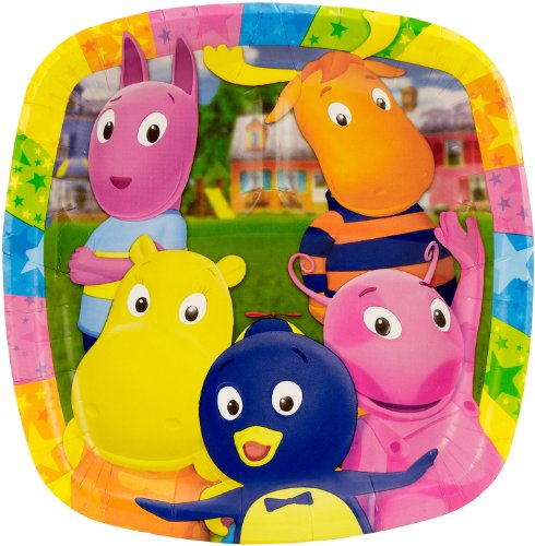 Backyardigans Dinner Pocket Plates (8 -