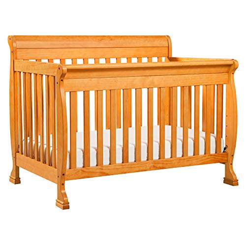 DaVinci Kalani 4-in-1 Convertible Crib, Honey Oak