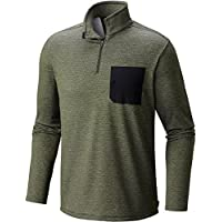 Mountain Hardwear Mens Mainframe Long Sleeve 1/4 Zip Jacket (Surplus Green)