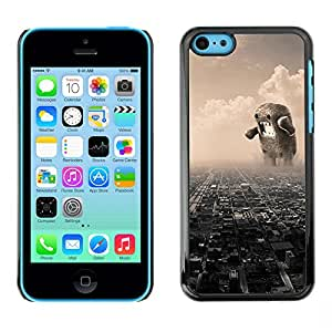 Ihec Tech / Funny Giant Domoku / Funda Case back Cover guard for iPhone 5C