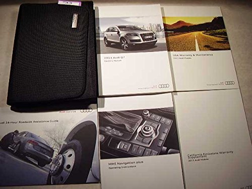 2013 Audi Q7 with MMI navigation booklet Owners Manual