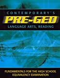 Contemporarys Pre-Ged: Language Arts, Reading (Contemporary's Pre-GED Series)