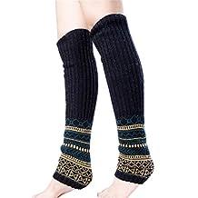 LerBen New Women Girls Soft Leg Warmer Socks For Boots Wool Blend Leggings