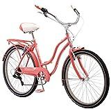 """Schwinn Ladies Perla 7 Speed Cruiser Bicycle 26"""" Wheels"""