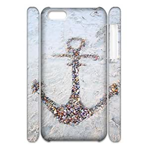 diy 3D Bumper Plastic Case Of Anchor customized case For Iphone 4/4s