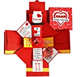 DecuT Explosion Box 3 Layered Handmade Explosion Box romantic Gift Unique Scrapbook DIY sweet memories Photo Album DIY Accessories Kit