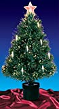 DAK 3' Pre-Lit Fiber Optic Artificial Christmas Tree with Candles - Multi Lights