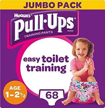 712 g Huggies Pull Ups Night Time Potty pantalones de entrenamiento para ni/ños 52 unidades 2-4 a/ños