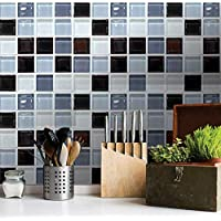 6PCS/Set European style waterproof tiles stickers kitchen bathroom DIY wall stickers creative home decor mm