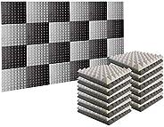 Arrowzoom New Pyramid Acoustic Foam Studio Absorbing Tiles Pads Wall Panels