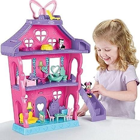 Fisher Price Bdh01 Casa Di Minnie Amazon It Giochi E Giocattoli
