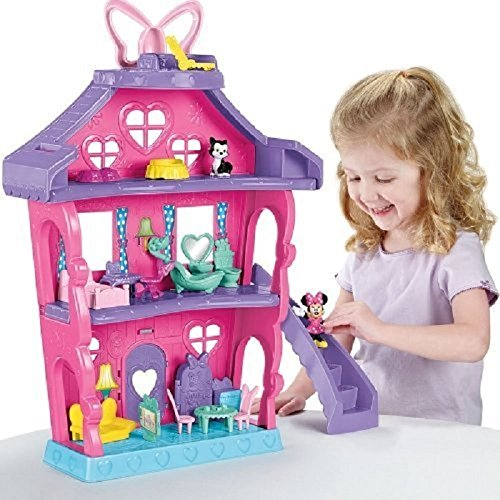 58 opinioni per Fisher Price Bdh01- Casa di Minnie