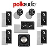 Polk Audio 265LS 7.1 Vanishing Series In-Wall / In-Ceiling Home Theater System (265-LS + 255C-LS + 900-LS + HTS12)