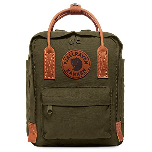 Fjallraven - Kanken No. 2 Mini Backpack for Everyday Use and Travel, Green