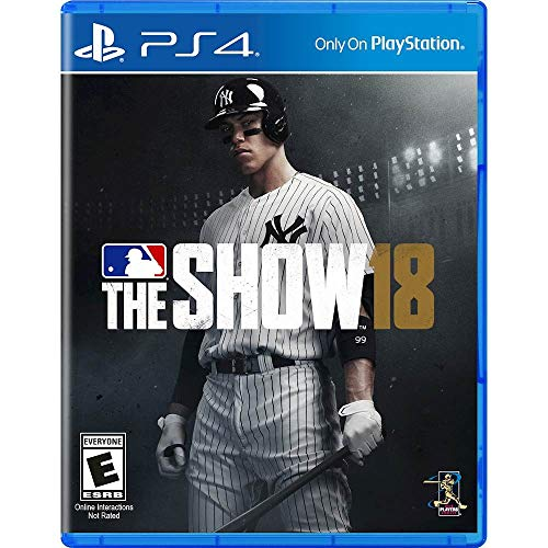 MLB The Show 18 ps4- Brand New + one mini gift (5ml size)