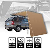 Offroading Gear 6.5'L x 8'W Roof Rack 4x4 Awning