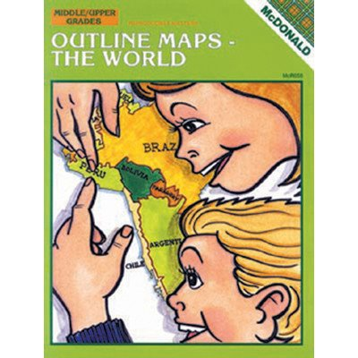 Outline Map Set - Outline Maps The World Book [Set of 2]
