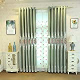 pureaqu Thermal Insulated European Floral Embroidered Hollowed Blackout Curtains Drapes for Living Room 96 Inches Long Ring/Grommet Top Window Treatment for Patio Doors 1 Panel W100 x H96 Inch Review