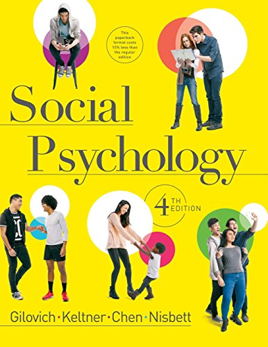 Social Psychology (Fourth Edition) -
