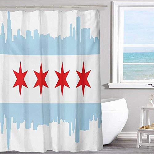 MKOK Bathroom Shower Curtain 40