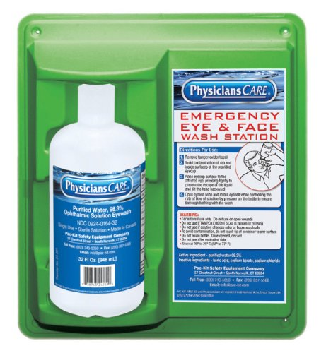 PhysiciansCare 24-202 Wall Mountable Eye - Safety Station Shopping Results