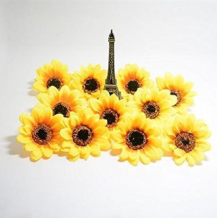 Amazon Artificial Flowers Headsgerbera Daisy Flowers Heads