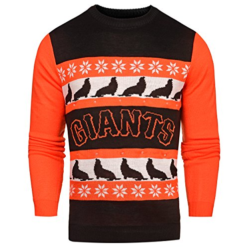 MLB San Francisco Giants One Too Many Light Up Sweater, X-Large Sf Christmas Lights