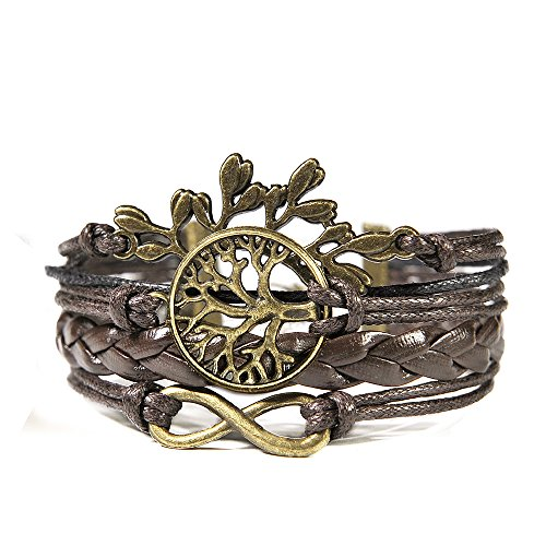 hitop-jewelry-mens-womens-leather-bracelet-vintage-leaves-life-tree-charm-bangle-brown