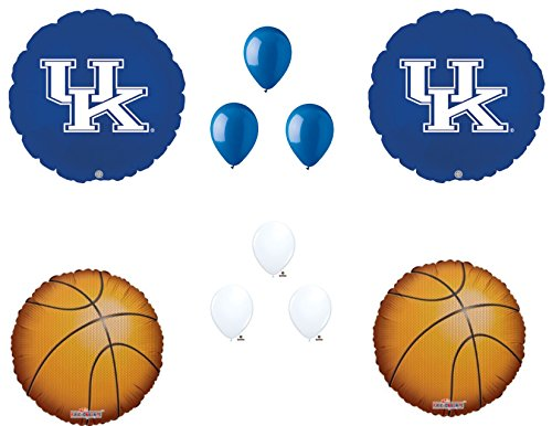 KENTUCKY WILDCATS Basketball Game Day Birthday Party Balloons Decorations Supplies College University ()