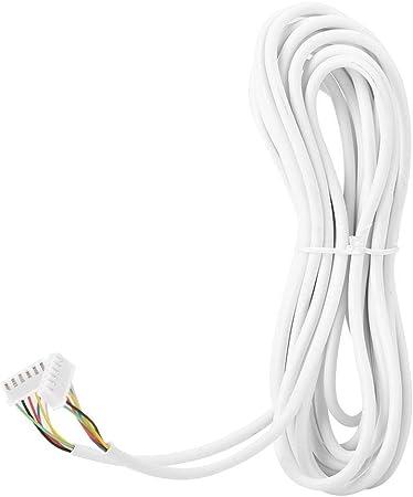 C/âble rond 4 x 2,0 mm/² C/âble /électrique multipolaire de 10m Nudito C/âble /à 4 fils compatible avec Nudito Vid/éo Interphone Fils /électriques pour la 20m 15m 25m S/élection 30 m/ètres 30m