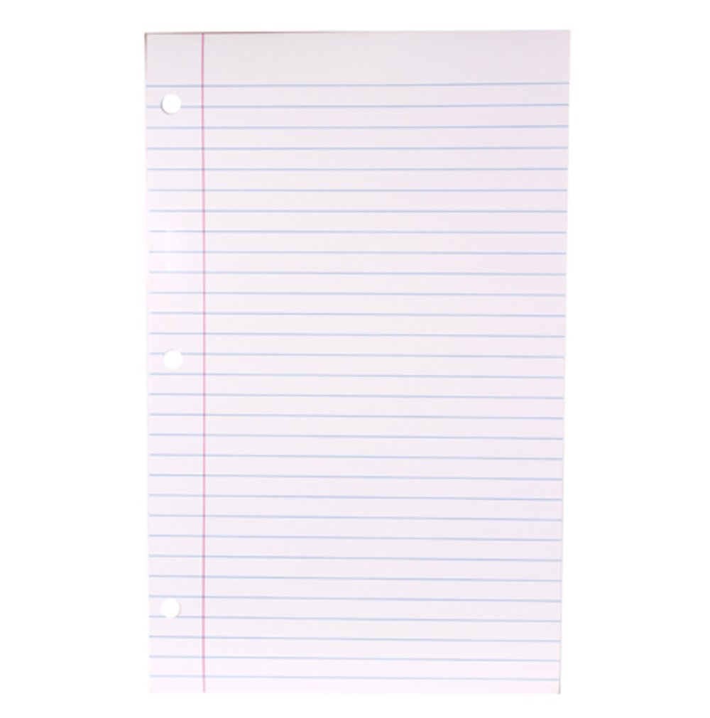 RetailSource DAR015ED72 Learning Chart, Notebook Paper, 13.75'' x 22'',3 Pieces x 72 Pack (Pack of 216)