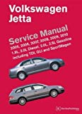 Volkswagen Jetta Service Manual: 2005, 2006, 2007, 2008, 2009, 2010: 1.9L, 2.0L Diesel, 2.0L, 2.5L Gasoline Including TDI, GLI and SportWagen by Bentley Publishers (Dec 18 2009)