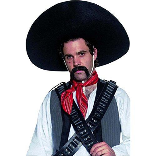 [Mexican Bandit Sombrero Costume Accessory] (Bandit Child Costumes)