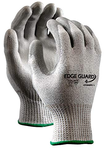 Stauffer EdgeGuard4™ Cut Resistant Glove with PU Coating, Cut Level A4, Extra Large, (Pack of 12) by Stauffer Glove & Safety (Image #3)