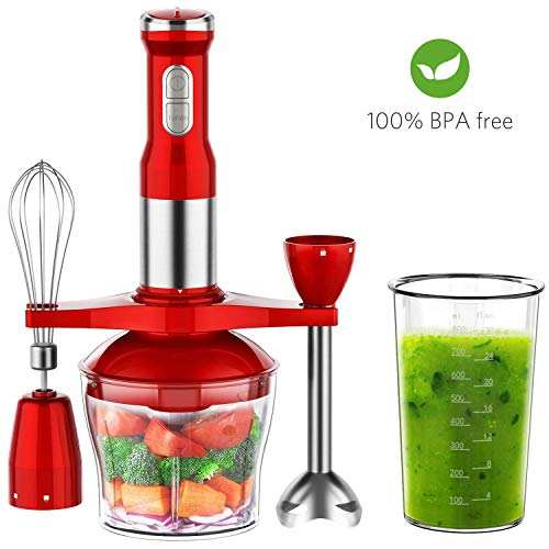 Loving this red hand blender...