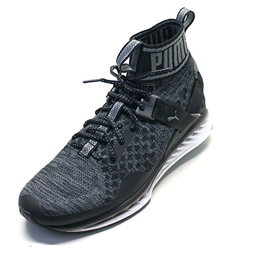 discount sast Puma Unisex Adults' Ignite Evoknit Running Shoes black/grey sale enjoy geniue stockist for sale outlet lowest price low price fee shipping for sale HvY7sqJr8