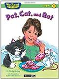 We Read Phonics-Pat, Cat, and Rat, Sindy McKay, 1601153120