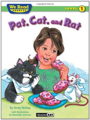 Pat, Cat, and Rat (We Read Phonics Leveled Readers)