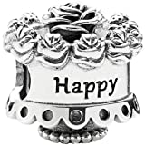 Pandora Bead Happy Birthday - 791289 Bild