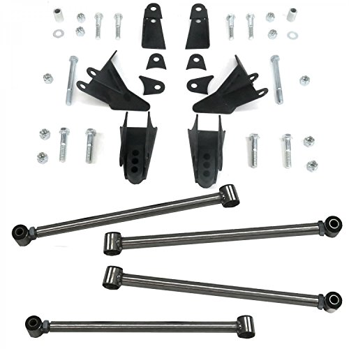 4 Link Air Bag Suspension Kits - 4
