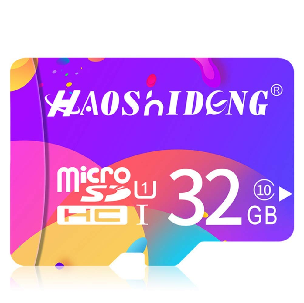 Micro SD Card 32GB, Micro SDHC Class 10 UHS-I High Speed Memory Card for Phone, Tablet and PCs YXYP