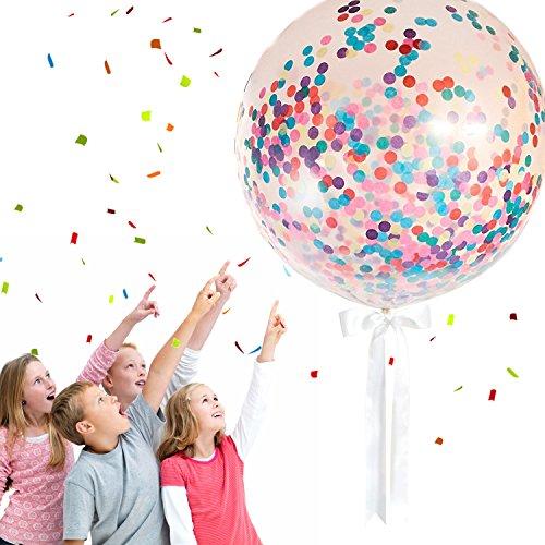 MONILON Confetti Balloons, 6 Pcs 36