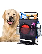 SunGrow Pet Travel Organizer Bag, 12x6x2 Inches, Spacious Bag That Secures Pet Travel Essentials, Fits with All Cars, Space Saver Dog and Cat Bag