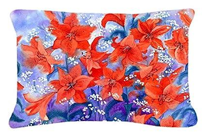 Amazon.com: Caroline tesoros del tela decorativo almohada de ...
