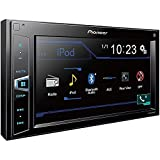 Pioneer MVH-AV290BT 6.2'' Double-DIN In-Dash Digital Media A/V Receiver with Bluetooth (Certified Refurbished)