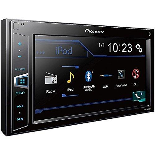 Pioneer MVH-AV290BT 6.2'' Double-DIN In-Dash Digital Media A/V Receiver with Bluetooth (Certified Refurbished)