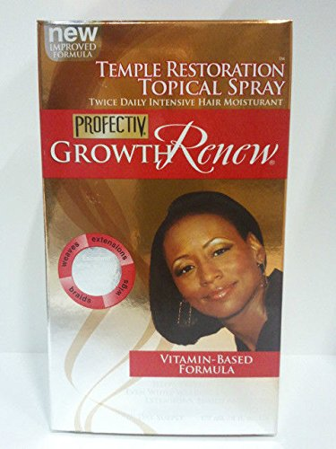 Profectiv Growth Renew Temple Restoration Topical Spray 4 Oz