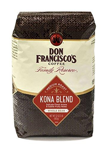Don Francisco's Kona Blend,Whole Bean 32 oz. Bag Family Reserve